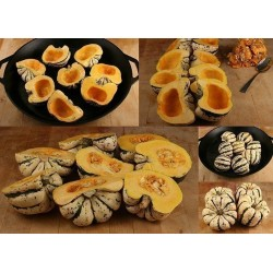 "Sementes de Abóbora Cucurbita pepo ""Sweet Dumpling"""