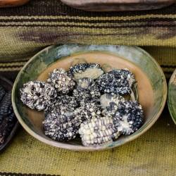Sementes de Milho Peruano Preto Branco Chulpe - Cancha 2.45 - 1