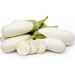 White Eggplant Seeds 1.85 - 1