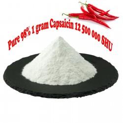 Pure 98% 1 gram Capsaicin 12 500 000 SHU 40 - 1