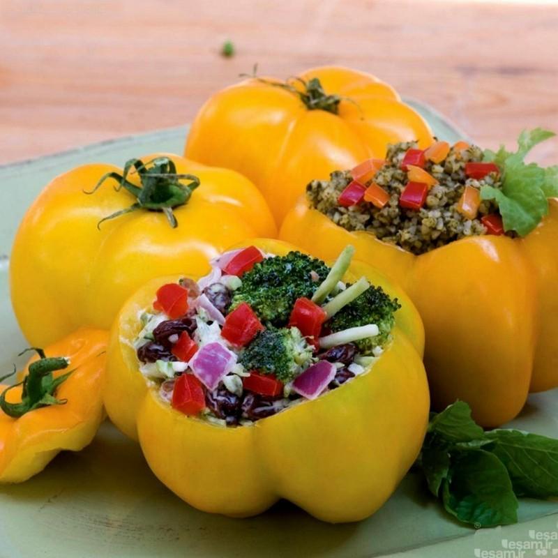 Sementes de tomate Yellow Stuffer  - 8